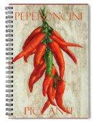 Peperoncini Piccanti Spiral Notebook