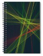 Pepper Computer Graphic Line Pattern Spiral Notebook