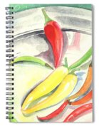 Pepper Play Spiral Notebook