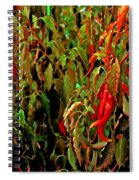 Peppers - Red Spiral Notebook