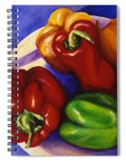 Peppers In The Round Spiral Notebook