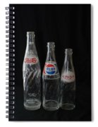 Pepsi Bottles Spiral Notebook