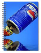 Pepsi Can Hot Air Balloon At Solberg Airport Reddinton  New Jersey Spiral Notebook