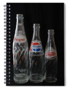 Pepsi Cola Bottles Spiral Notebook