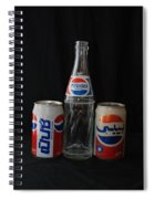 Pepsi Cola Spiral Notebook