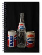 Pepsi From Around The World Spiral Notebook