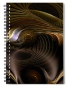 Perceptual Flux Spiral Notebook