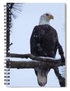 Perched And Proud  Spiral Notebook