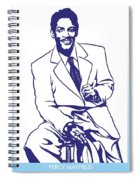 Percy Mayfield Spiral Notebook