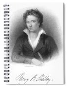 Percy Shelley (1792-1822) Spiral Notebook
