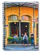 Pere Antoine Restaurant - Paint Spiral Notebook