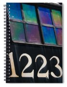 Pere Marquette Locomotive 1223 Spiral Notebook