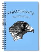 Peregrine Falcon Tashunka Spiral Notebook