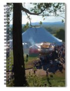 Perfect Fair Weather Spiral Notebook