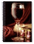 A Perfect Glass Of Wine Spiral Notebook