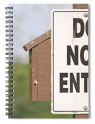 Perfect Nesting Box 2 Spiral Notebook