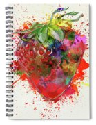 Perfect Strawberry Spiral Notebook