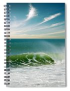 Perfect Wave Spiral Notebook