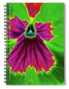 Perfectly Pansy 04 - Photopower Spiral Notebook