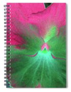 Perfectly Pansy 07 - Photopower Spiral Notebook