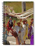 Period Performers At Ephesis Turkey Spiral Notebook