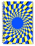 Peripheral Drift Illusion  Spiral Notebook