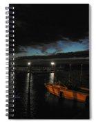 Perkins Pier Sunset Spiral Notebook