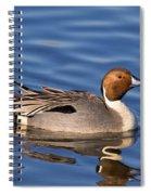 Perky Pintail Spiral Notebook