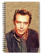 Pernell Roberts, Vintage Actor Spiral Notebook