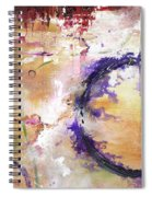 Perpetual Motion - Squared Spiral Notebook