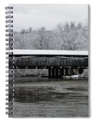 Perrine's Bridge After The Nor'easter Spiral Notebook
