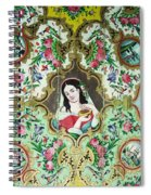 Persian Lady Spiral Notebook