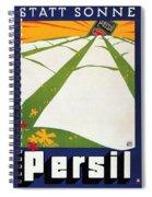 Persil - Statt Sonne - Vintage Advertising Poster For Detergent Spiral Notebook