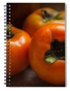 Persimmons Spiral Notebook