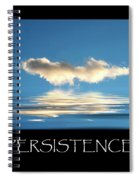 Persistence Spiral Notebook