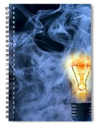 Persistence Of Vision Spiral Notebook