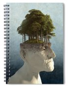 Personal Growth Spiral Notebook