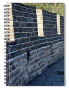 Perspective At The Great Wall Spiral Notebook