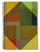 Perspective In Color Collage 8 Spiral Notebook
