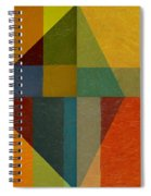 Perspective In Color Collage Spiral Notebook