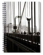 Perspective On The Golden Gate Bridge Spiral Notebook