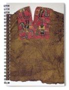 Peru: Paracas Poncho Spiral Notebook
