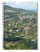 Perugia Countryside Spiral Notebook