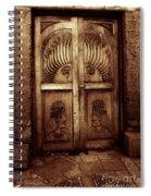 Peruvian Door Decor 11 Spiral Notebook