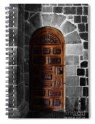 Peruvian Door Decor 13 Spiral Notebook