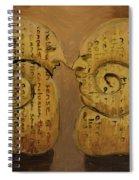 Pessimist Optimist Spiral Notebook