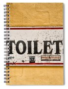 Pet Toilets Spiral Notebook