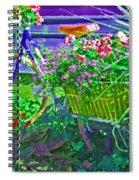Petal Pusher Spiral Notebook