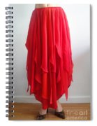 Petal Skirt - Ameynra Fashion 2016 Spiral Notebook
