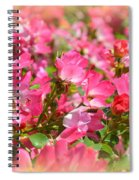 Petal Softly Spiral Notebook